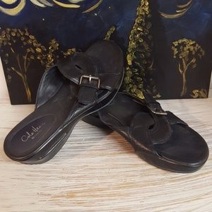 Cole Haan Black G Series Sandals